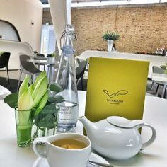 Slick teatime at the swanky Magazine Restaurant in London.    Photo courtesy of nadabj on Instagram.