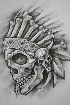 Skull Artwork, Skull, Skull Art Drawing, Drawings, Tattoo Art Drawings, Skull Stencil, Tattoo Design Drawings, Tattoo Stencils, Dark Art Drawings