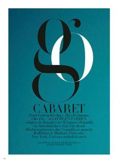 go cabaret: irina kravchenko by sofia sanchez & mauro mongiello for harper's bazaar germany october 2014