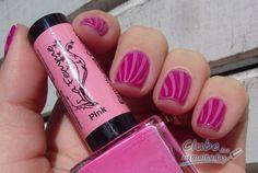 La femme Pink esmalte pra carimbo Clube das Esmaltas