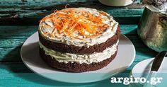 Κέικ καρότου από την Αργυρώ Μπαρμπαρίγου   Απολαύστε το ολόφρεσκο και θα τρελαθείτε από την υφή, τη γεύση και τα αρώματα του. Θα σας λιγώσει!