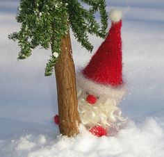 woolly santa gnome pdf download