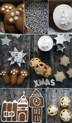 ❖ X-mas cookies. Cookie Icing, Cookie Bars, Gingerbread Cookies, Christmas Cookies, Christmas Mood, Christmas Wishes, Pistachio, Quick Easy Meals, Nutella
