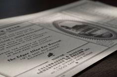 Bureau of Invitations Ticket Invitation, Invitations, Inspiration Boards, Design Inspiration, Train Tickets, 1920s Art Deco, Art Deco Wedding, Letterpress, Teal