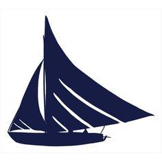 Sailboat Silhouette logo