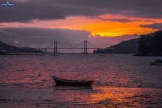 Ensenada de San Simón y Puente de Rande