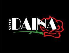 Logo de campaña publicitaria DAINA STYLE Manejo de la herramienta ilustrator