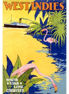 vintage caribbean travel posters - Google Search