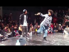 Best 2 dancers in the world Japan Les Twins - Final Hip Hop - http://youtu.be/yWe0PxUEVoc