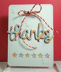 Lawn Fawn - Stitched Journaling Card, Scripty Thanks, Hello Sunshine 6x6 paper, Coral Lawn Trimmings _ Adorable die-cut tag by Coralynn via Flickr - Photo Sharing!