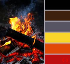 Campfire Color Palette