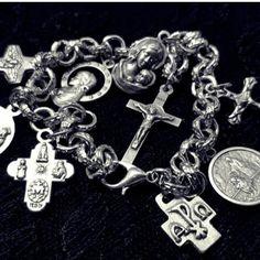 Catholic Charm Bracelet