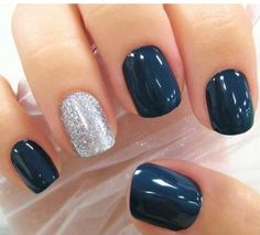Super cute acrylic nails and I like them because they are not to long