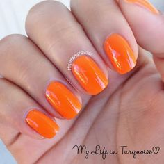 orange oasis // Covergirl Tropical Glosstinis Collection // My Life in Turquoise