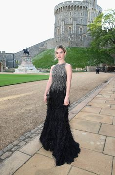Lily James in 2014.