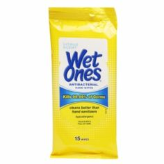 I'm learning all about Wet Ones Antibacterial Hands