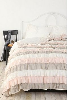 Urban Outfitters bedding- Neopolitan- Bella's room