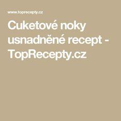 Cuketové noky usnadněné recept - TopRecepty.cz