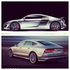 Audi s7 VS Audi R8GT?