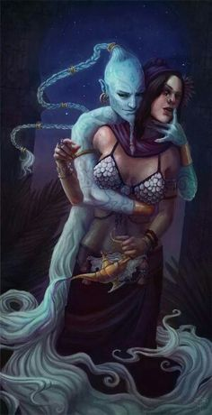 Résultat d'images pour djinn Fantasy Rpg, Dark Fantasy Art, Fantasy Artwork, Dark Art, Character Inspiration, Character Art, Character Design, Magical Creatures, Fantasy Creatures