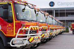 Renault Trucks liefert 22 Feuerwehrfahrzeuge an die Stadt Madrid