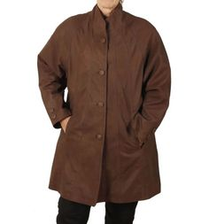 """Ivory leather swing coat       Famous Words of Inspiration...""""At the touch of love everyone becomes a poet.""""   Plato — Click here for more from Plato               More details at https://jackets-lovers.bestselleroutlets.com/ladies-coats-jackets-vests/wool-pea-coats/product-review-for-simons-leather-womens-3-4-length-leather-swing-coat/"""