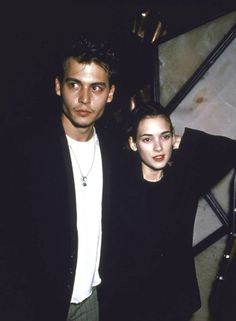 winona ryder says johnny depp is first love | ... love her almost more than i love myself johnny depp on winona ryder