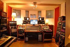 NRV Recording Studios, Bruxelles, Belgium.