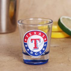 Texas Rangers 2oz. Bottoms Up Collector Shot Glass - $6.99