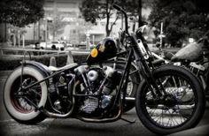 #harleydavidson #knucklehead #bobber #motorcycle #jackrabbit #bars #LetsGetWordy