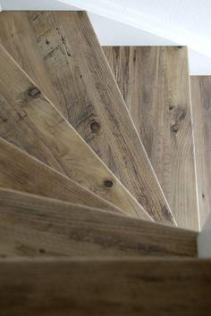 Mississippi Pine decor traprenovatie