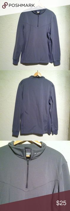 Nike Golf Therma Fit 3/4 Zip Pullover Nike Golf Therma Fit 3:/4 Zip Pullover. Size large Nike Shirts