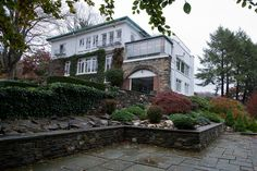 In the 1930s Zita Rosenthal's in-laws bought an approximately 400-acre estate in Croton-on-Hudson in New York's Westchester County and redid this 1920s home on the property in the Art Deco style, says the 75-year-old Ms. Rosenthal.