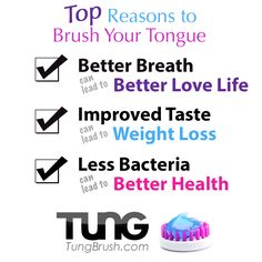 Top Reasons to Brush Your Tongue - TUNG Brush & Gel