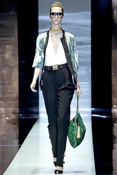 Gucci Spring 2012 Ready-to-Wear Fashion Show - Alana Zimmer