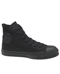 all black high-top converse