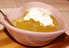 Dette er en ganske kjent oppskrift for en god sukkerfri gele. Den er veldig god