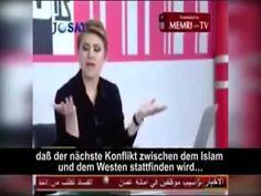 Islam diskutiert im Fernsehen wie Europa nach Machtübernahme regiert wer...