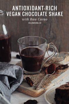 Vegan Chocolate Shake Recipe