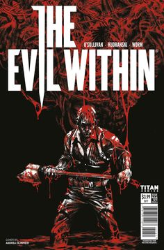 """Titan And Bethesda Team Up For """"The Evil Within 2,"""" """"Wolfenstein 2,"""" And """"Dishonored: Death Of The Outsider"""" Tie-In Comics"""