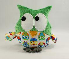#owl #kids #forkids #plush #baby #kids #forkids #minky #green #kellygreen #littlesophie