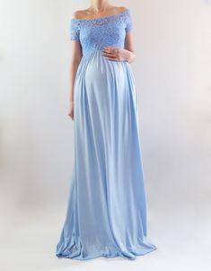 284a3f6d824 Ella - pre-order. Off Shoulder Maternity DressMaternity ...