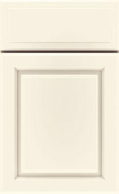 via Prosource: kemper cabinets in maple/ coconut finish