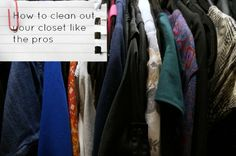 How To Clean Out Your Closet With Tips From Chicago's Personal Stylists