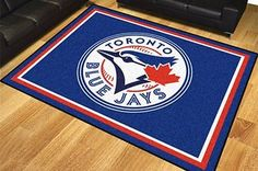 FanMats 17439 - Area Rug with Toronto Blue Jays Logo