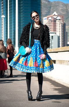 GLAM girls spotted at MB Fashion Week | Glamour South Africa