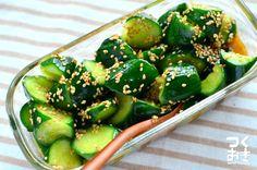 ねかせておいしい。きゅうりのピリ辛ラー油和え #つくおき #常備菜 #冷蔵4日