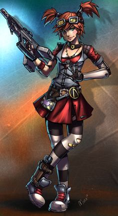 deviantART: More Like Borderlands - Lilith and Maya by ~Sonellion