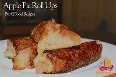 4 ingredient Apple Pie Roll Ups