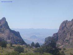 The Rugged Beauty of the Expanse of the Chisos Basin of West Texas in Big Bend National Park.